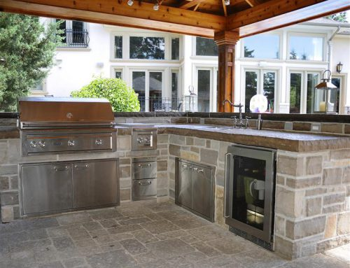 Enjoy your Outdoor Kitchen during the Winter